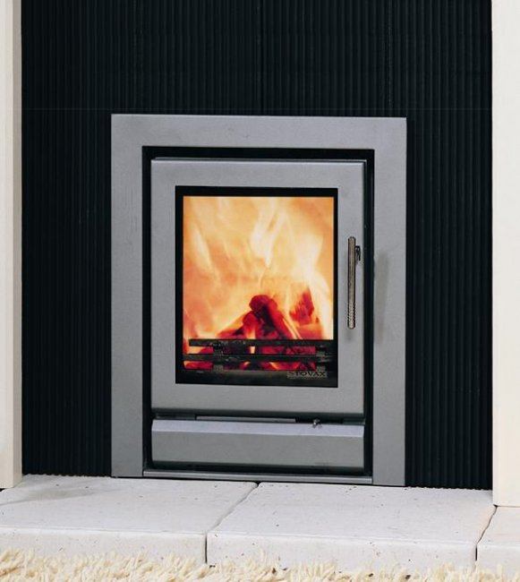 Stovax Riva 40 Cassette Inset Multifuel DEFRA Stove - Riva 40 Inset