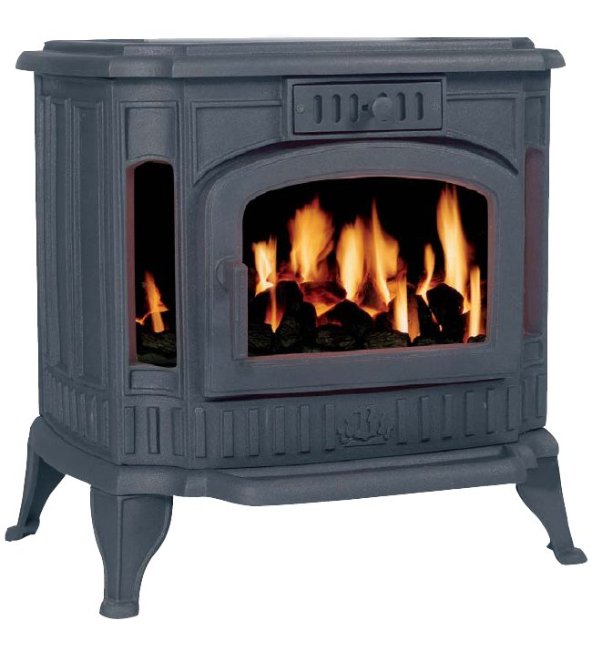 Broseley Winchester Cast Iron Gas Stove - Winchester