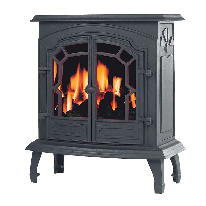Broseley Lincoln Cast Iron Slimline Gas Stove - Lincoln