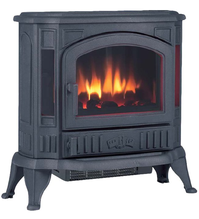Broseley Winchester Cast Iron Electric Stove - Winchester