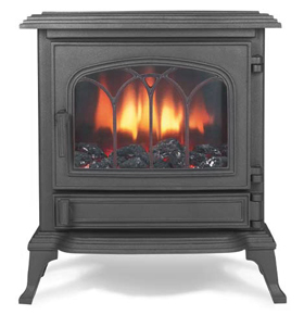 Broseley Canterbury Cast Iron Electric Stove - Canterbury