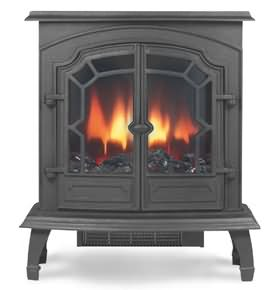Broseley Lincoln Cast Iron Electric Stove - Lincoln