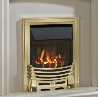 Eko 4010 Glass Fronted HE Gas Fire - Eko 4010