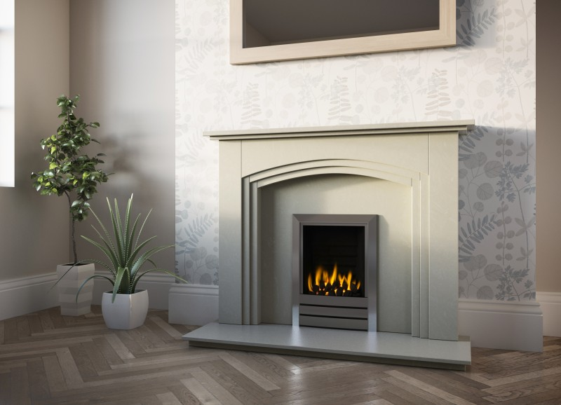 Pudsey Shiraz Marble Fireplace Suite - Shiraz Stone or Marble Suite