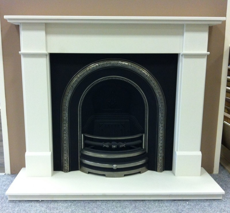 Marco Honed White Cast Package inc Gas Fire - Marco Cast Package