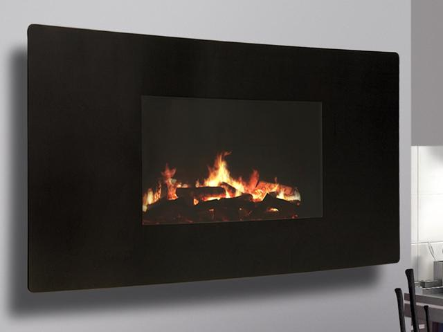 Celsi Curved LED Electric Fire - Celsi Curved