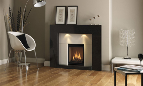 Dru Global 40 - Dru 40 gas fire