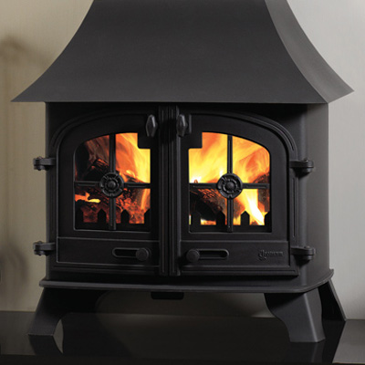 Yeoman County Wood & Multi-fuel Stove Low Canopy - Yeoman County LC