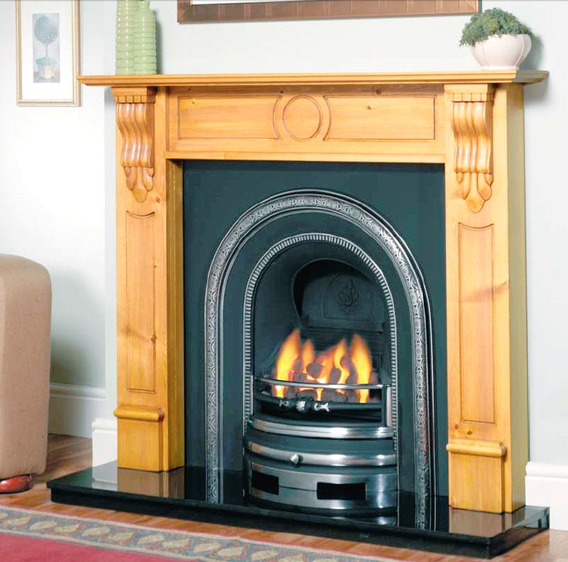 Clifton Cast Iron Fireplace Package - Clifton Package