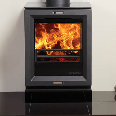 Stovax View 3 Multi Fuel Stove - Stovax View 3