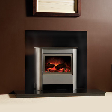 Gazco Steel Manhattan Electric Medium Stove - Gazco Steel Manhattan Medium Electric