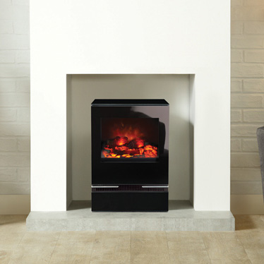 Gazco Riva Vision Electric Small Stove - Gazco Riva Vision Small Electric