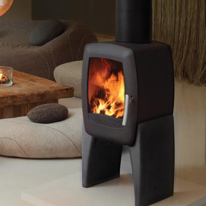 Nordpeis Smarty Concrete Wood Burning Stove - Nordpeis Smarty Concrete
