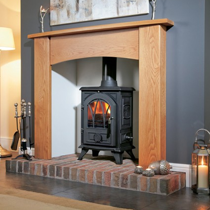 Portway 1 Cast Iron Arched - Traditional Multi Fuel Stove - Portway 1 Cast Iron Arched