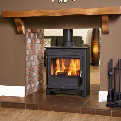 Portway 2 Double-sided Contemporary - Multi Fuel Stove - Portway 2 Double Sided C