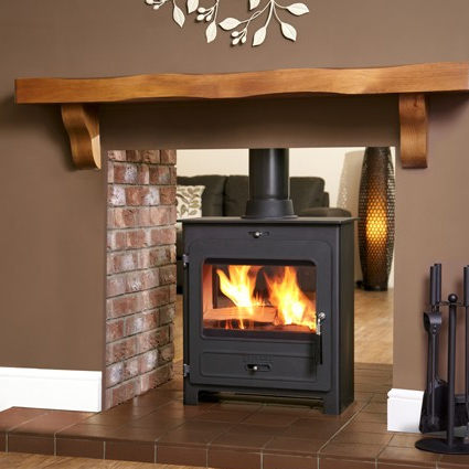 Portway 2 Double-sided Traditional - Multi Fuel Stove - Portway 2 Double Sided T