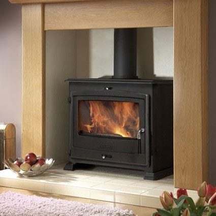 Portway 3 Traditional Wood Burning Stove - Portway 3 Wood