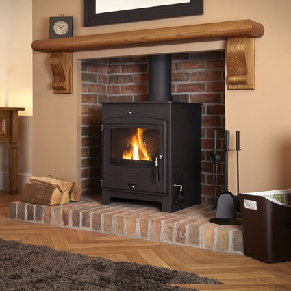 Portway Central Heating - Traditional Multi Fuel Stove - Portway CH Traditional