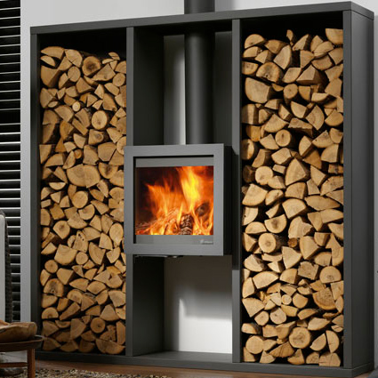 DG Bora Wall Wood Stove - DG Bora Wall