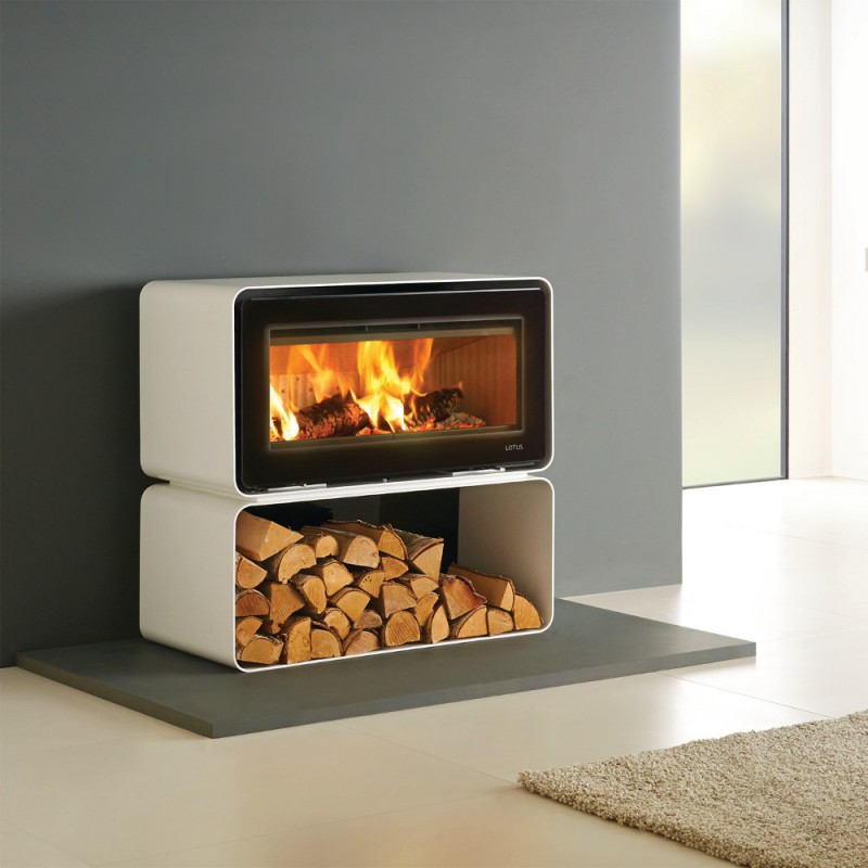Lotus Living Woodburning Stove - Lotus Living Woodburning Stove