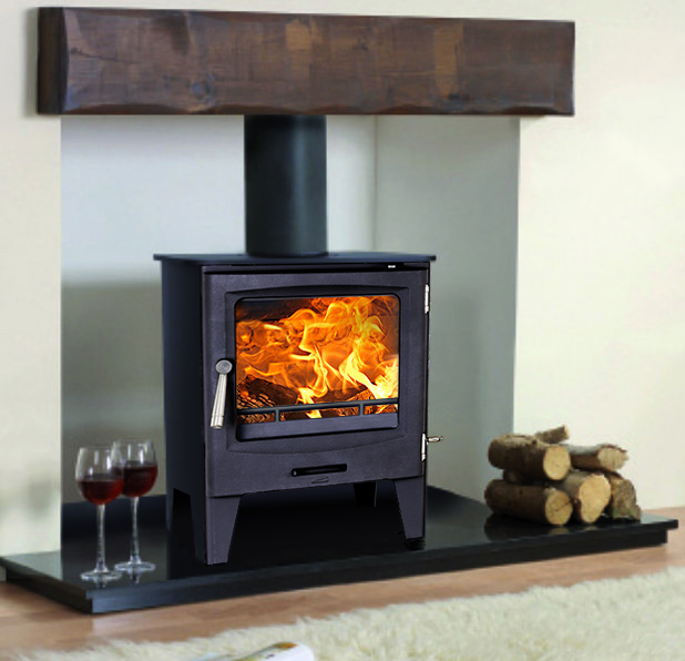STOVE PACKAGE DEAL, Hearth, Pipe, Beam & Stove - £899 STOVE Package Deal