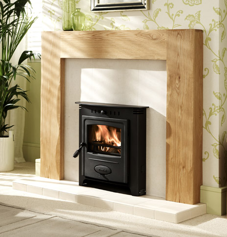 Hamlet Solution 5 Inset Multifuel Stove - Solution 5