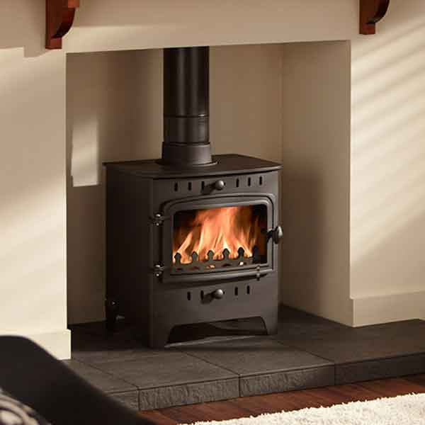 Villager C Flat 5kw Woodburning Stove - C Flat Wood