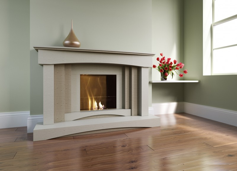 Pudsey Georgia Fireplace - Georgia Stone or Marble Suite