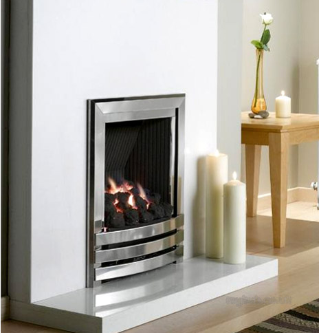 Flavel Linear HE Inset Glass fronted Gas Fire - Linear HE