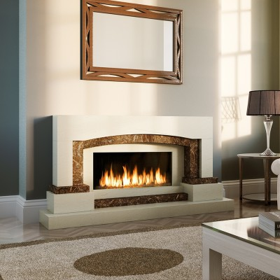 Pudsey Archdale Fireplace - Archdale Stone or Marble Suite