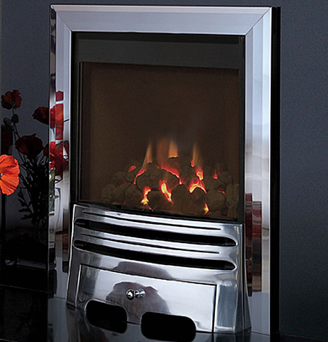 Flavel Calibre Balanced Flue Inset Glass fronted Gas Fire - Calibre BF