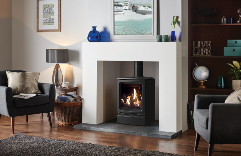 Gazco Vogue Gas Stove - Gazco Vogue Gas Stove