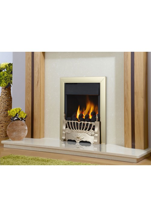 Flavel Kenilworth Plus SC Brass Gas Fire - Kenilworth SC
