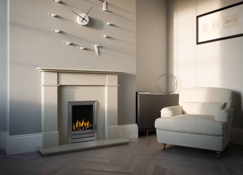 Pudsey Marco Stone or Marble Fireplace Suite - Marco Stone or Fireplace Suite
