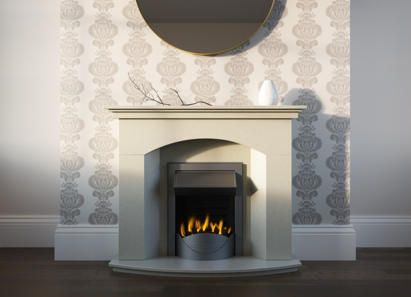 Pudsey Maria Stone or Marble Fireplace Suite - Maria Stone or Fireplace Suite