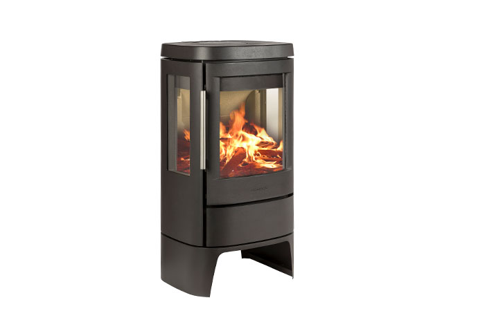 Hwam 4510c with side glass, with a low plinth - Hwam 4510c with side glass, with a low plinth