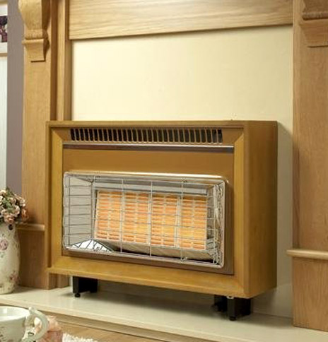 Flavel Misermatic Outset Radiant Gas Fire - Misermatic